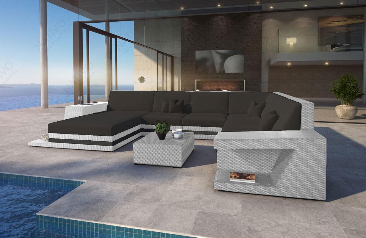 rattan sofa lounge carezza xxl modular von nativo m bel. Black Bedroom Furniture Sets. Home Design Ideas