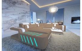 Designer Sofa SPACE XXL mit LED Beleuchtung