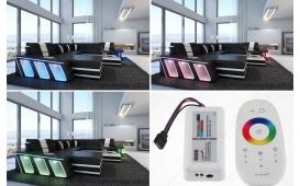 Designer Sofa CAREZZA XL mit LED Beleuchtung