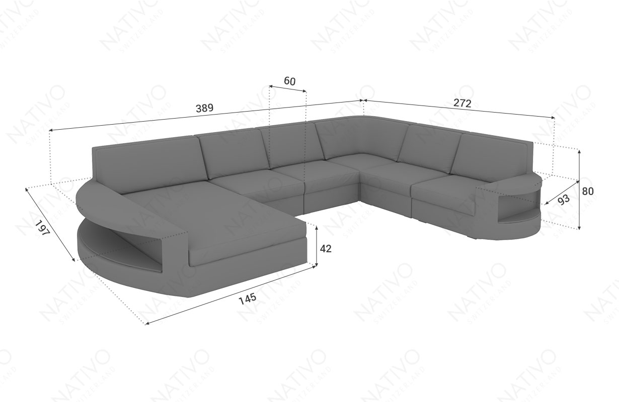 Modulares Outdoor Sofa Island