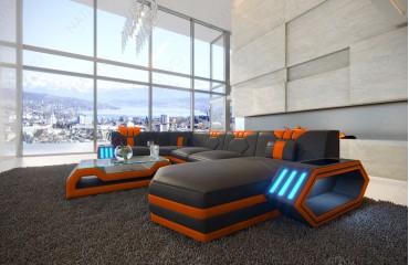 Designer Sofa CLERMONT XL mit LED Beleuchtung von NATIVO Möbel Österreich