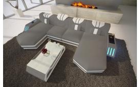 Designer Sofa CLERMONT XL U mit LED Beleuchtung von NATIVO Möbel Österreich