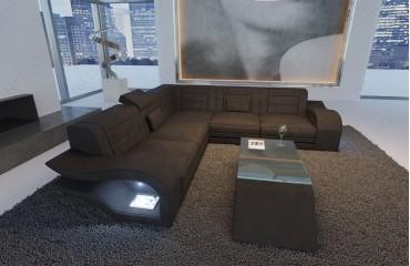Designer Sofa HERMES CORNER mit LED Beleuchtung von NATIVO Möbel Österreich