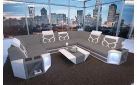 Designer Sofa AVENTADOR CORNER XL mit LED Beleuchtung von NATIVO Möbel Österreich