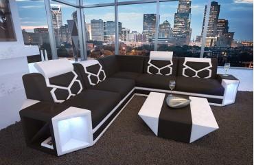 Designer Sofa AVENTADOR CORNER mit LED Beleuchtung von NATIVO Möbel Österreich