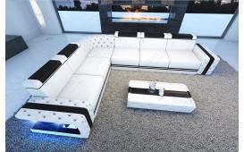 Designer Sofa IMPERIAL CORNER mit LED Beleuchtung von NATIVO Möbel Österreich