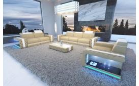 Designer Sofa IMPERIAL 3+2+1 mit LED Beleuchtung von NATIVO Möbel Österreich