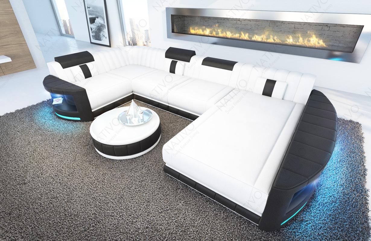 ledersofa atlantis xl bei nativo m bel oesterreich. Black Bedroom Furniture Sets. Home Design Ideas