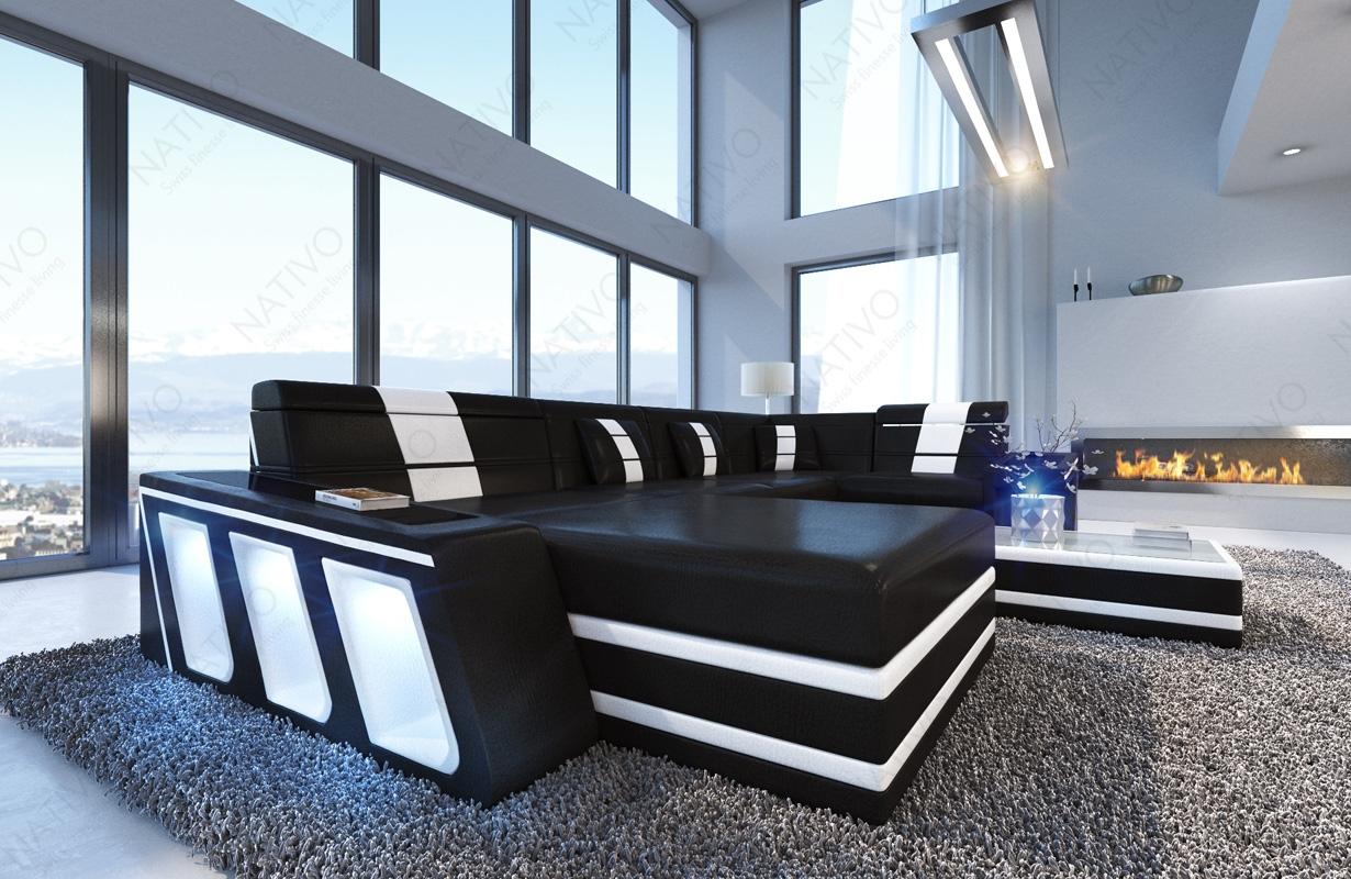 ledersofa carezza xl bei nativo m bel oesterreich. Black Bedroom Furniture Sets. Home Design Ideas