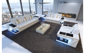 Designer Sofa CAREZZA 3+2+1 mit LED Beleuchtung von NATIVO Möbel Österreich