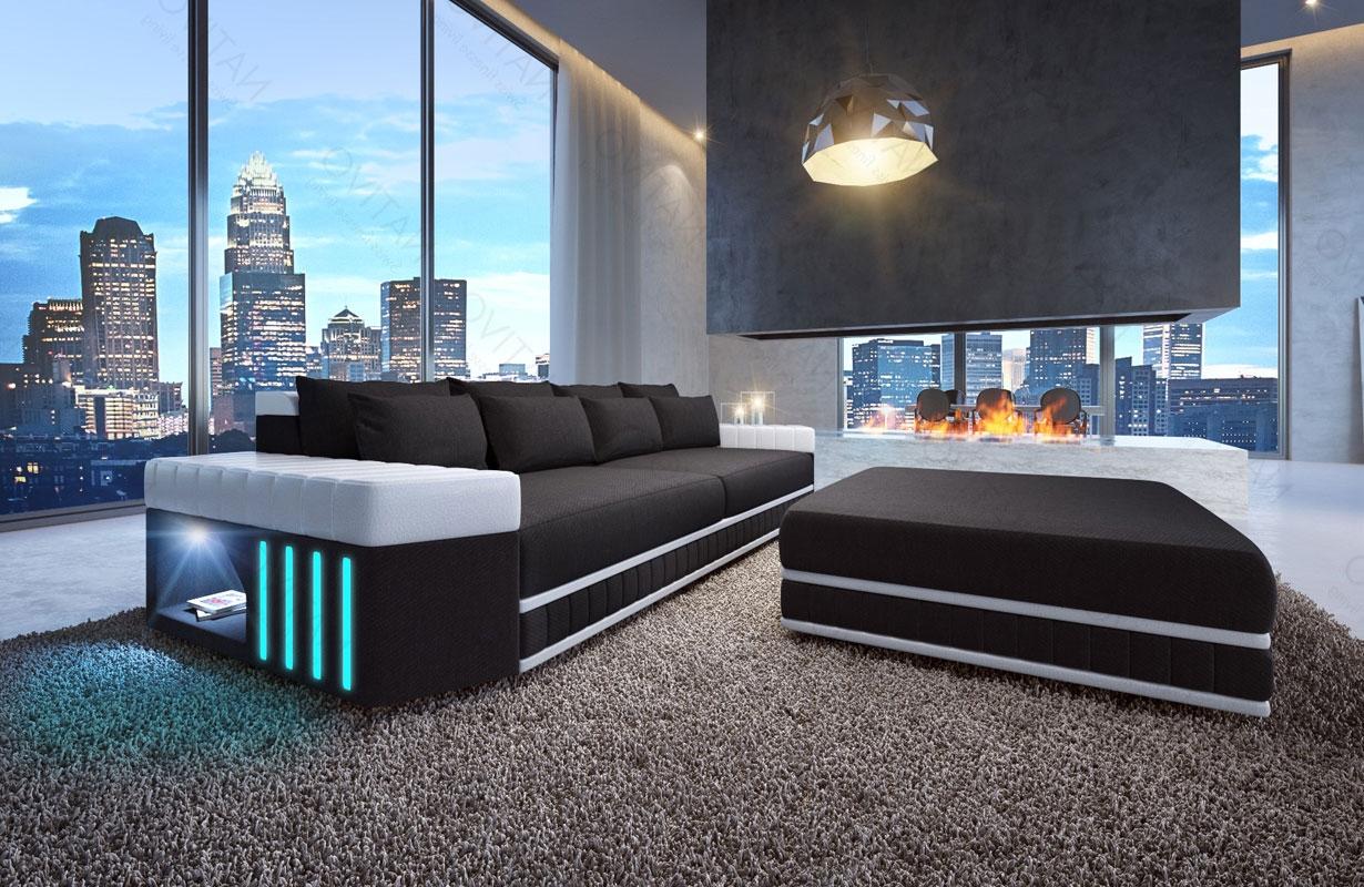 0bcab29c2aa1b5 BIG Sofa SKYLINE mit LED Beleuchtung von NATIVO Möbel Österreich ...