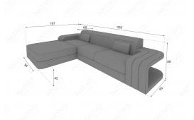 Designer Sofa SPACE MINI mit LED Beleuchtung von NATIVO Möbel Österreich