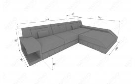 Designer Sofa MATIS MINI mit LED Beleuchtung von NATIVO Möbel Österreich