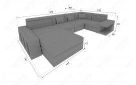 Designer Sofa CAREZZA XL mit LED Beleuchtung von NATIVO Möbel Österreich