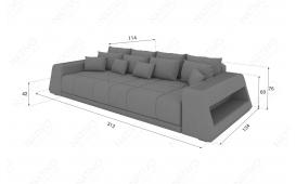 BIG Sofa VICE mit LED Beleuchtung von NATIVO Möbel Österreich