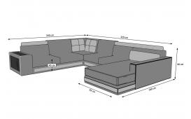 Designer Sofa SUN XXL mit Stauram von NATIVO Möbel Österreich