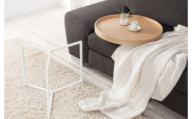 Designer Couchtisch BIG ROND WOOD von NATIVO Designer Möbel Österreich