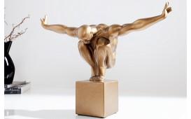 Designer Skulptur ATLETA COPPER 45 cm von NATIVO Designer Möbel Österreich