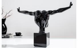 Designer Skulptur ATLETA BLACK 45 cm von NATIVO Designer Möbel Österreich