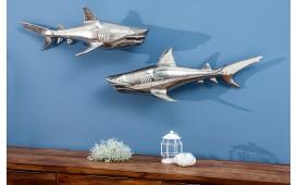 Designer Wanddekoration SHARK Set 2 von NATIVO Designer Möbel Österreich
