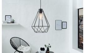 Designer Hängeleuchte CAGE BIG BLACK von NATIVO Designer Möbel Österreich