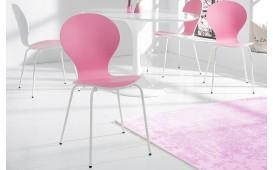 Designer Stuhl MODULO DUO PINK WHITE von NATIVO Designer Möbel Österreich