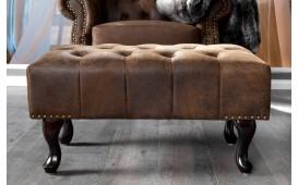 Designer Sitzhocker CHESTERFIELD ANTIK von NATIVO Designer Möbel Österreich