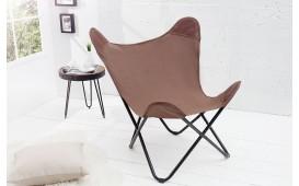 Designer Lounge Sessel ASTRA LAN BROWN von NATIVO Designer Möbel Österreich