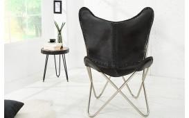 Designer Lounge Sessel ASTRA LEATHER BLACK von NATIVO Designer Möbel Österreich