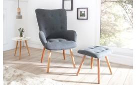 Designer Lounge Sessel MAN GREY SET