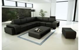 Designer Sofa EDEN inkl. 2 x Hocker und Couchtisch