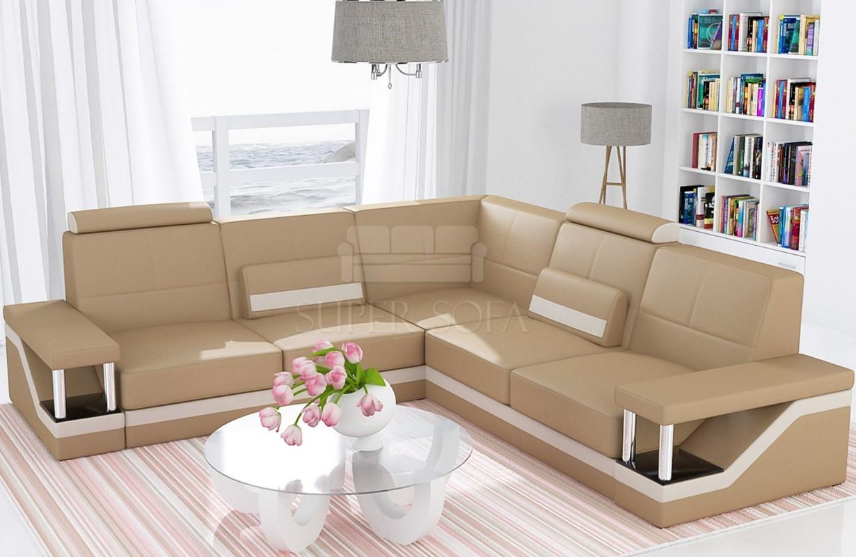 ledersofa angel corner bei nativo m bel oesterreich. Black Bedroom Furniture Sets. Home Design Ideas