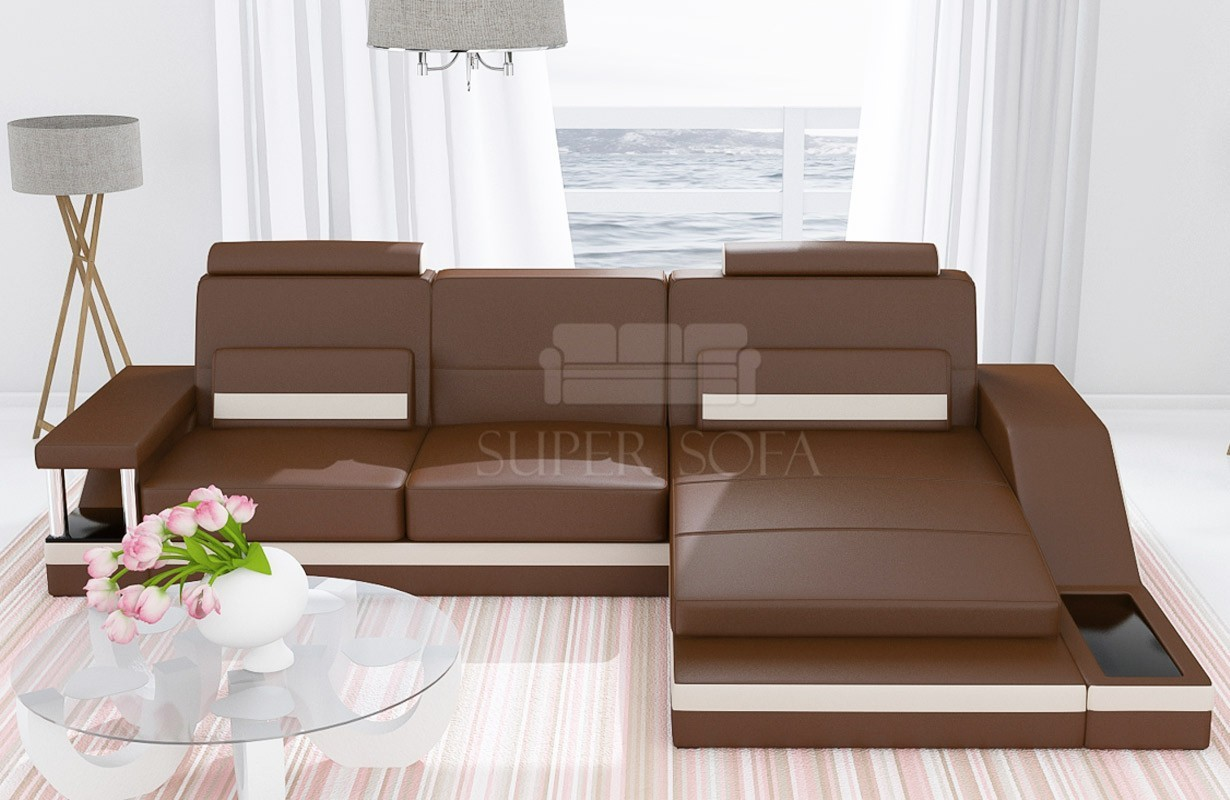 Ledersofa angel mini bei nativo m bel oesterreich for Designer ledersofa outlet