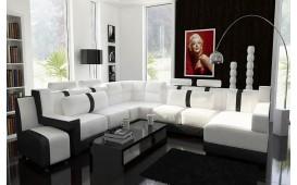 Designer Sofa ATLAS inkl. Hocker