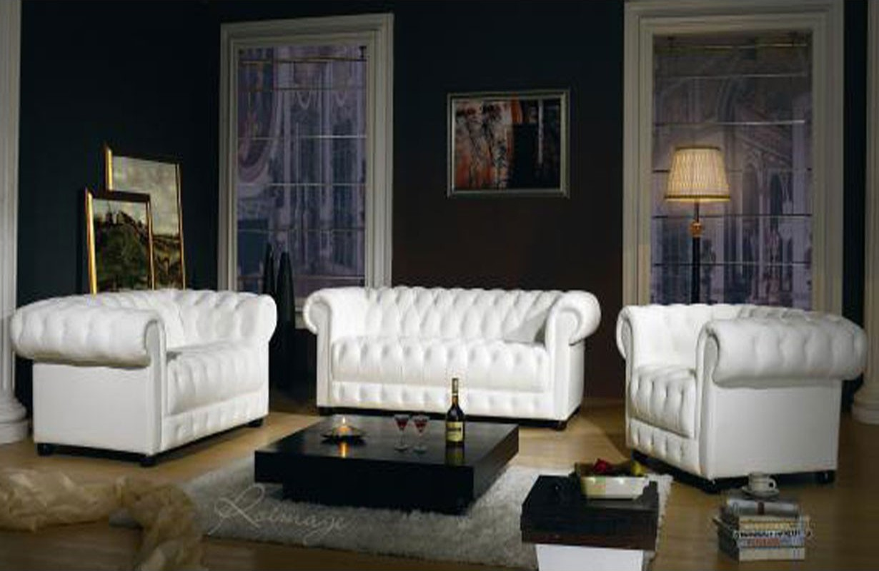 ledersofa chesterfield 3 2 1 nativo m bel oesterreich. Black Bedroom Furniture Sets. Home Design Ideas