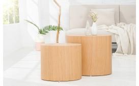 Designer Beistelltisch DIVO OAK Set 2 von NATIVO Designer Möbel Österreich