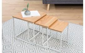 Designer Beistelltisch UNITY WHITE SET 3 von NATIVO Designer Möbel Österreich