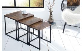 Designer Beistelltisch UNITY VINTAGE SET 3 von NATIVO Designer Möbel Österreich