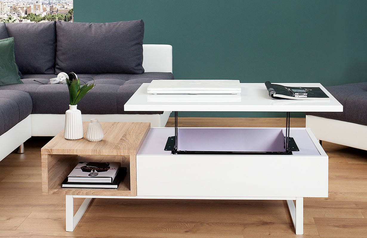 couchtisch sonoma stunning couchtisch hochheben fabulous. Black Bedroom Furniture Sets. Home Design Ideas