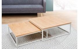Designer Couchtisch UNITY WHITE SET 2 von NATIVO Designer Möbel Österreich