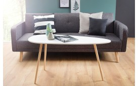 Designer Couchtisch PIN WHITE 115 cm von NATIVO Designer Möbel Österreich