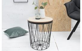 Designer Couchtisch CAGE II BLACK von NATIVO Designer Möbel Österreich