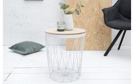 Designer Couchtisch CAGE II WHITE von NATIVO Designer Möbel Österreich