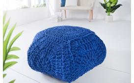 Designer Sitzhocker BOHO STAR BLUE von NATIVO Designer Möbel Österreich
