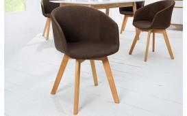 Designer Stuhl MUNICH BROWN von NATIVO Designer Möbel Österreich