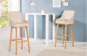 Designer Barhocker barhocker square beige nativo designer möbel österreich