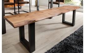 Designer Sitzbank ALMERE GREY 160 cm