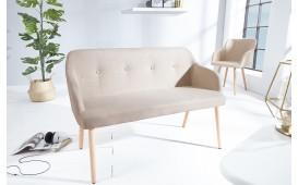 Designer Polsterbank SQUARE BEIGE
