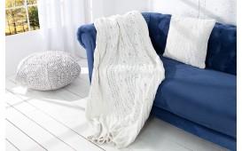 Designer Decke BOHO WHITE 130x170 cm