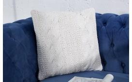 Designer Kissen BOHO WHITE 45 cm